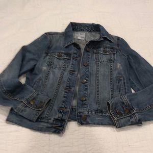 Old navy distressed Jean jacket